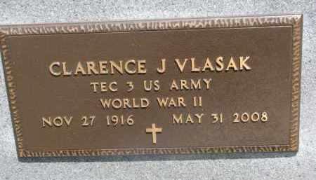 VLCEK, CLARENCE J. (WW II) - Bon Homme County, South Dakota   CLARENCE J. (WW II) VLCEK - South Dakota Gravestone Photos