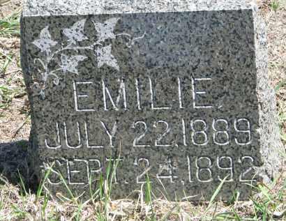 VYBORNY, EMILIE - Bon Homme County, South Dakota | EMILIE VYBORNY - South Dakota Gravestone Photos