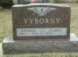 VYBORNY, CLARA - Bon Homme County, South Dakota   CLARA VYBORNY - South Dakota Gravestone Photos
