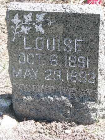 VYBORNY, LOUISE - Bon Homme County, South Dakota   LOUISE VYBORNY - South Dakota Gravestone Photos