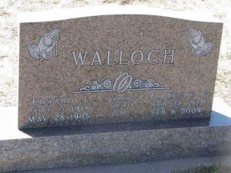 WALLOCH, FLORENCE C. - Bon Homme County, South Dakota | FLORENCE C. WALLOCH - South Dakota Gravestone Photos