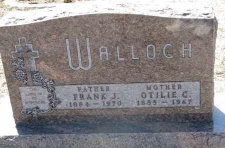 WALLOCH, FRANK J. - Bon Homme County, South Dakota | FRANK J. WALLOCH - South Dakota Gravestone Photos