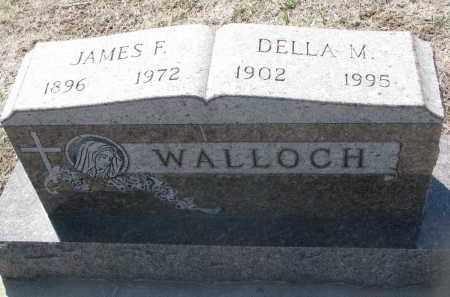 WALLOCH, DELLA M. - Bon Homme County, South Dakota | DELLA M. WALLOCH - South Dakota Gravestone Photos