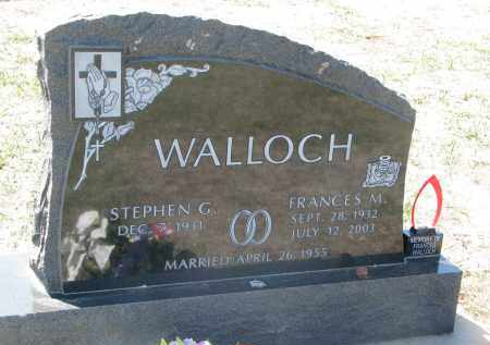 WALLOCH, STEPHEN G. - Bon Homme County, South Dakota | STEPHEN G. WALLOCH - South Dakota Gravestone Photos