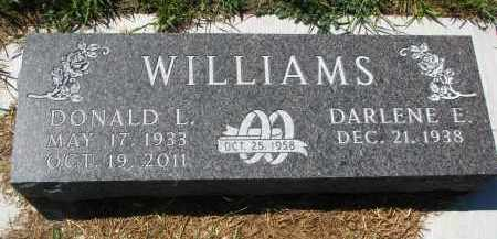 WILLIAMS, DONALD L. - Bon Homme County, South Dakota | DONALD L. WILLIAMS - South Dakota Gravestone Photos