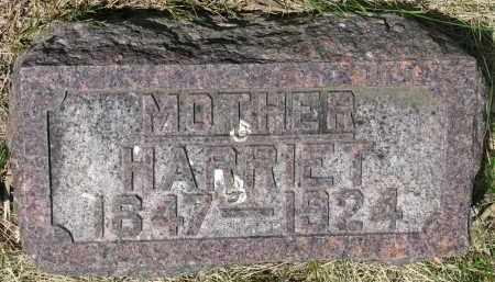 WILLIAMS, HARRIET - Bon Homme County, South Dakota | HARRIET WILLIAMS - South Dakota Gravestone Photos