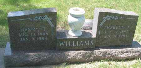 WILLIAMS, THERESA A. - Bon Homme County, South Dakota | THERESA A. WILLIAMS - South Dakota Gravestone Photos