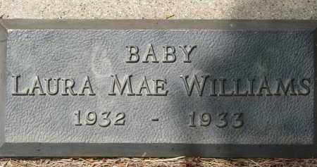 WILLIAMS, LAURA MAE - Bon Homme County, South Dakota | LAURA MAE WILLIAMS - South Dakota Gravestone Photos