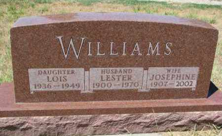 WILLIAMS, JOSEPHINE - Bon Homme County, South Dakota | JOSEPHINE WILLIAMS - South Dakota Gravestone Photos