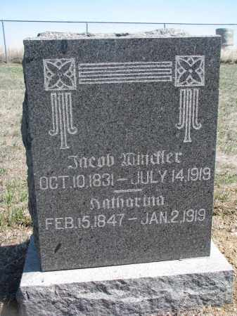 WINCKLER, KATHARINA - Bon Homme County, South Dakota | KATHARINA WINCKLER - South Dakota Gravestone Photos