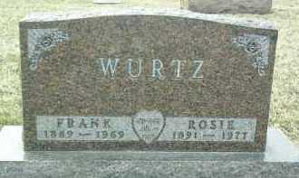 WURTZ, ROSIE - Bon Homme County, South Dakota | ROSIE WURTZ - South Dakota Gravestone Photos