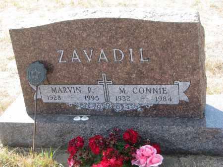 ZAVADIL, MARVIN P. - Bon Homme County, South Dakota   MARVIN P. ZAVADIL - South Dakota Gravestone Photos