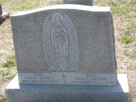 ZDENEK, VACLAV - Bon Homme County, South Dakota | VACLAV ZDENEK - South Dakota Gravestone Photos
