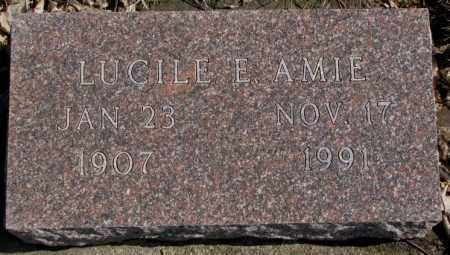 AMIE, LUCILE E. - Brookings County, South Dakota | LUCILE E. AMIE - South Dakota Gravestone Photos
