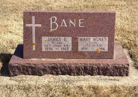 BANE, MARY AGNES - Brookings County, South Dakota | MARY AGNES BANE - South Dakota Gravestone Photos