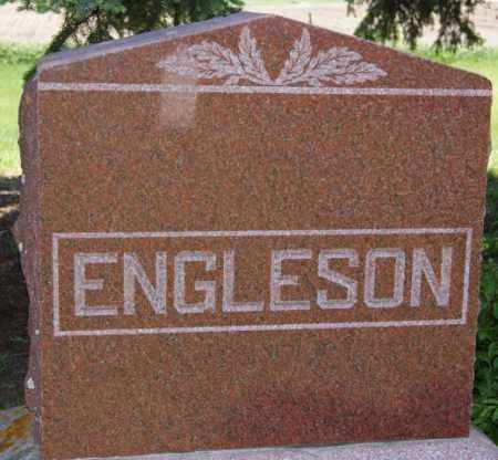 ENGLESON, FAMILY MARKER - Brookings County, South Dakota | FAMILY MARKER ENGLESON - South Dakota Gravestone Photos