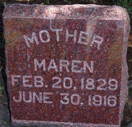 ENGLESON, MAREN - Brookings County, South Dakota | MAREN ENGLESON - South Dakota Gravestone Photos