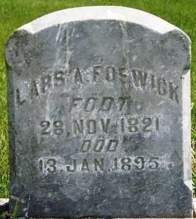 FOSWICK, LARS A - Brookings County, South Dakota | LARS A FOSWICK - South Dakota Gravestone Photos