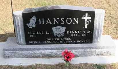 HANSON, KENNETH M. - Brookings County, South Dakota | KENNETH M. HANSON - South Dakota Gravestone Photos