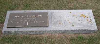 HANSON, ALICE L. - Brookings County, South Dakota   ALICE L. HANSON - South Dakota Gravestone Photos