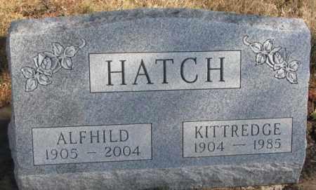HATCH, KITTREDGE - Brookings County, South Dakota | KITTREDGE HATCH - South Dakota Gravestone Photos