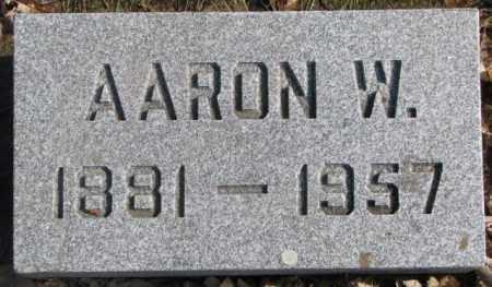 HOWELL, AARON W. - Brookings County, South Dakota | AARON W. HOWELL - South Dakota Gravestone Photos