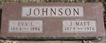 JOHNSON, J. MATT - Brookings County, South Dakota | J. MATT JOHNSON - South Dakota Gravestone Photos