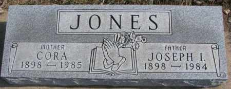 JONES, CORA - Brookings County, South Dakota | CORA JONES - South Dakota Gravestone Photos