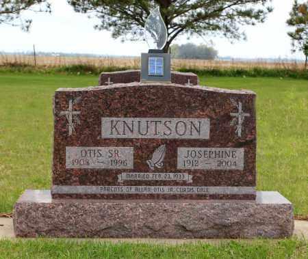 KNUTSON, OTIS SR. - Brookings County, South Dakota   OTIS SR. KNUTSON - South Dakota Gravestone Photos