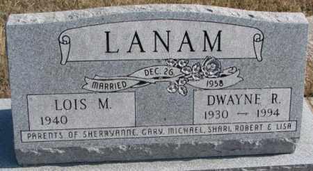 LANAM, LOIS M. - Brookings County, South Dakota | LOIS M. LANAM - South Dakota Gravestone Photos