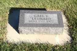 LEONARD, CARL - Brookings County, South Dakota | CARL LEONARD - South Dakota Gravestone Photos