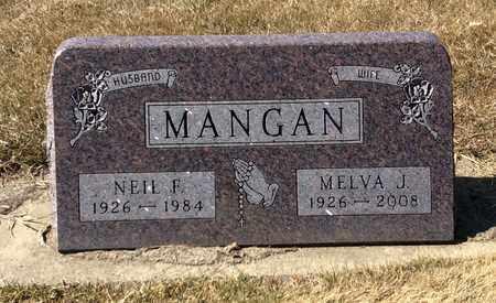 MANGAN, NEIL F. - Brookings County, South Dakota | NEIL F. MANGAN - South Dakota Gravestone Photos
