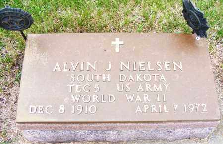 NIELSEN, ALVIN J - Brookings County, South Dakota | ALVIN J NIELSEN - South Dakota Gravestone Photos