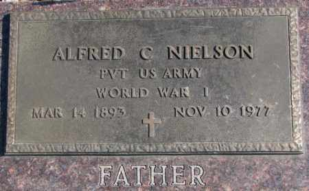 NIELSON, ALFRED C. (WW I) - Brookings County, South Dakota   ALFRED C. (WW I) NIELSON - South Dakota Gravestone Photos