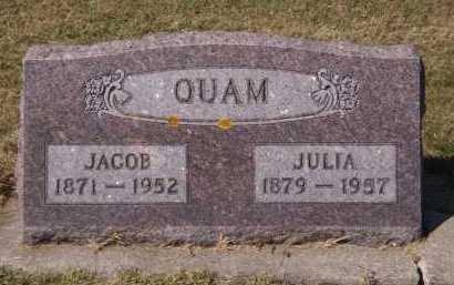 QUAM, JACOB - Brookings County, South Dakota | JACOB QUAM - South Dakota Gravestone Photos