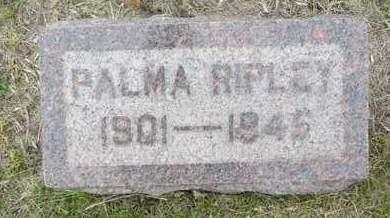 RIPLEY, PALMA - Brookings County, South Dakota | PALMA RIPLEY - South Dakota Gravestone Photos