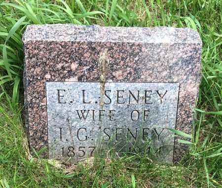 SENEY, E.L. - Brookings County, South Dakota | E.L. SENEY - South Dakota Gravestone Photos