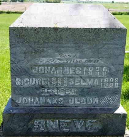 SNEVE, SELMA - Brookings County, South Dakota | SELMA SNEVE - South Dakota Gravestone Photos