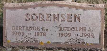 SORENSEN, GERTRUDE K. - Brookings County, South Dakota | GERTRUDE K. SORENSEN - South Dakota Gravestone Photos