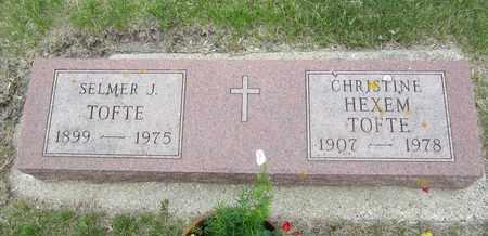TOFTE, CHRISTINE - Brookings County, South Dakota | CHRISTINE TOFTE - South Dakota Gravestone Photos