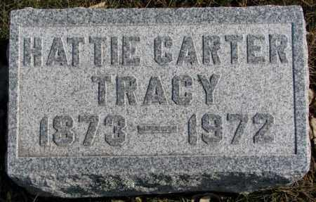 CARTER TRACY, HATTIE - Brookings County, South Dakota | HATTIE CARTER TRACY - South Dakota Gravestone Photos