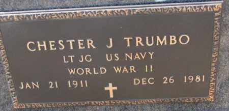 TRUMBO, CHESTER J. (WW II) - Brookings County, South Dakota | CHESTER J. (WW II) TRUMBO - South Dakota Gravestone Photos