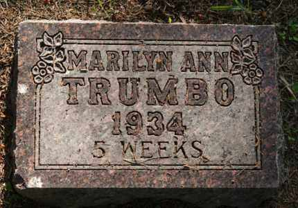 TRUMBO, MARILYN ANN - Brookings County, South Dakota   MARILYN ANN TRUMBO - South Dakota Gravestone Photos