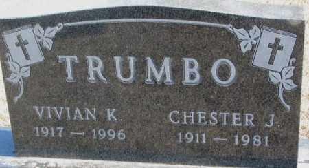 TRUMBO, VIVIAN K. - Brookings County, South Dakota | VIVIAN K. TRUMBO - South Dakota Gravestone Photos