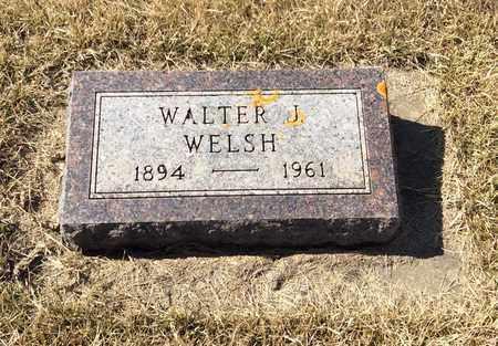 WELSH, WALTER J. - Brookings County, South Dakota | WALTER J. WELSH - South Dakota Gravestone Photos