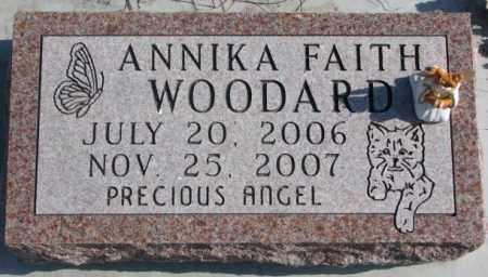 WOODARD, ANNIKA FAITH - Brookings County, South Dakota   ANNIKA FAITH WOODARD - South Dakota Gravestone Photos