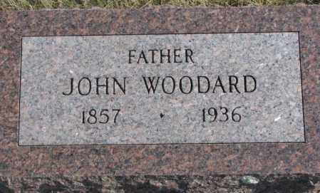 WOODARD, JOHN - Brookings County, South Dakota   JOHN WOODARD - South Dakota Gravestone Photos