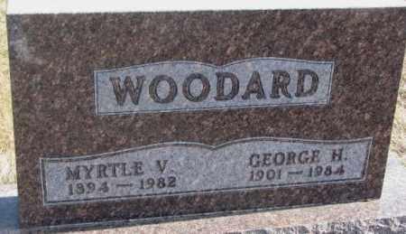 WOODARD, MYRTLE V. - Brookings County, South Dakota   MYRTLE V. WOODARD - South Dakota Gravestone Photos