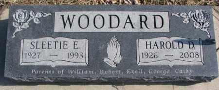 WOODARD, SLEETIE E. - Brookings County, South Dakota | SLEETIE E. WOODARD - South Dakota Gravestone Photos