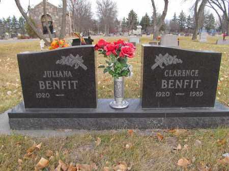 BENFIT, CLARENCE C - Brown County, South Dakota   CLARENCE C BENFIT - South Dakota Gravestone Photos